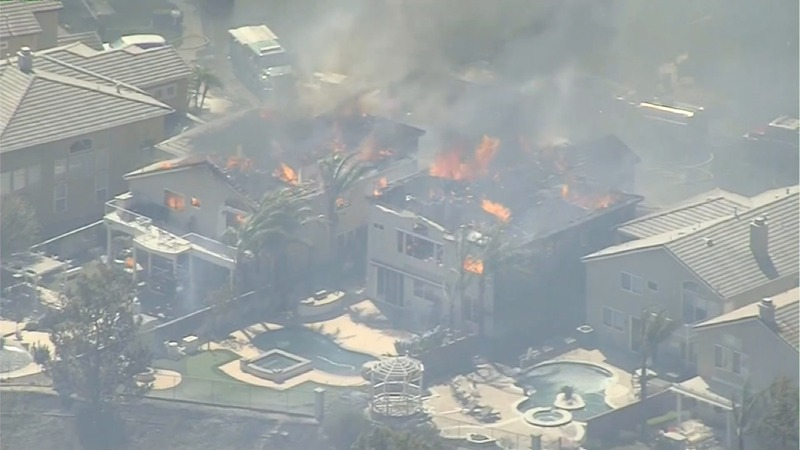 INSIGHT: California wildfires destroy Anaheim homes