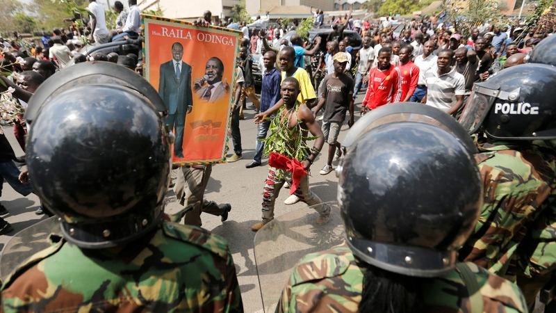 Kenya's political crisis deepens as Odinga quits election