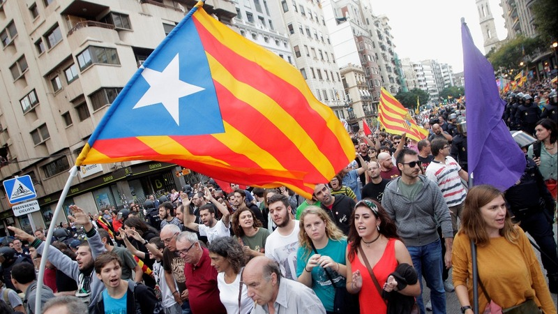 Catalan leader given eight days to drop independence