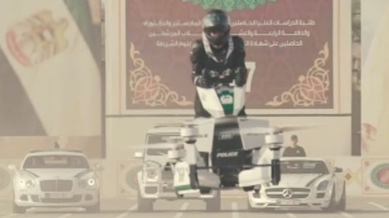 INSIGHT: Dubai adds a hoverbike to its police force