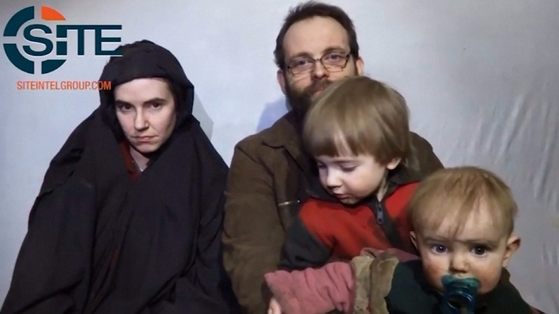 U.S.-Canadian family rescued in Pakistan after five years