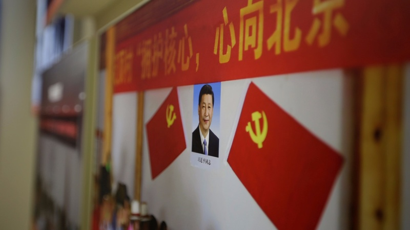Xi propaganda in high gear for China's party congress