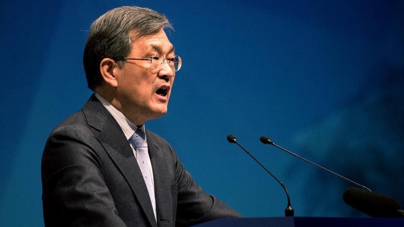 Samsung boss resigns over 'unprecedented crisis'