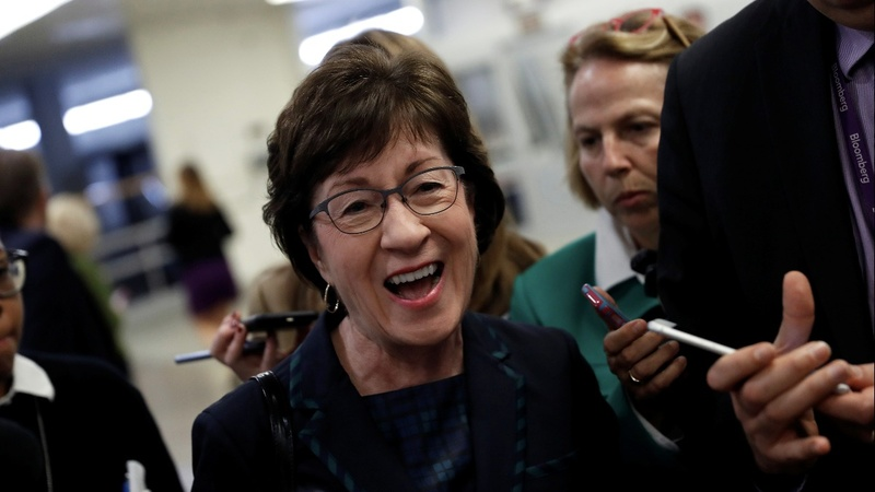 VERBATIM: Sen. Collins who stood up to Trump to stay in Senate