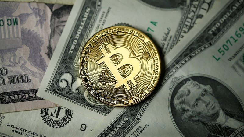 Bitcoin stampedes to fresh record, nears $6,000