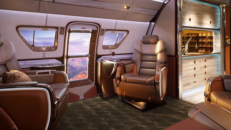 Luxury jets designed with ultra-wealthy in mind
