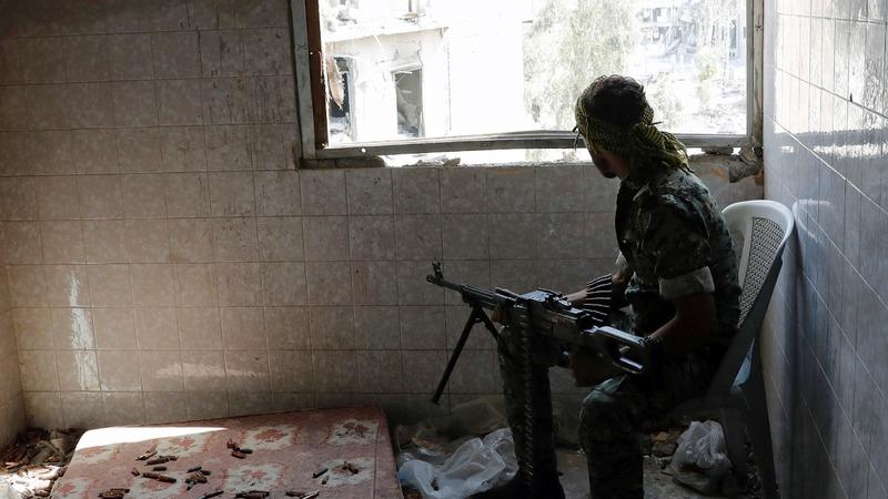 I.S. defeat in Raqqa expected within days - Kurdish militia