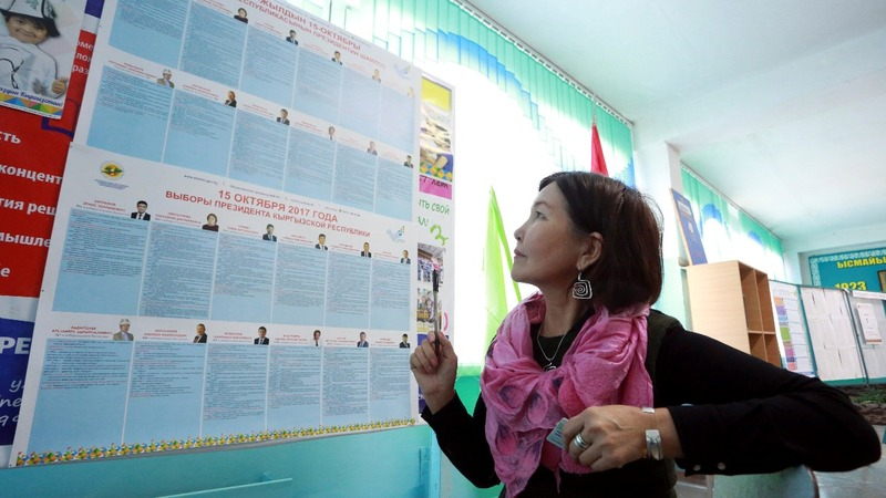 Kyrgyz vote set to keep country close to Moscow