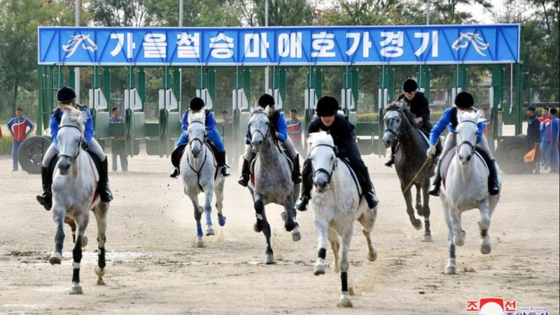 North Korea allows racetrack gambling