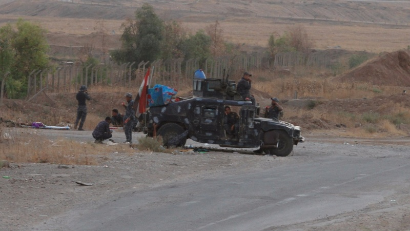 Iraqi forces seize Kirkuk from Kurds in bold advance