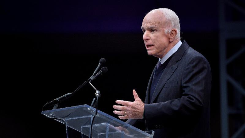 VERBATIM: John McCain slams 'spurious nationalism'