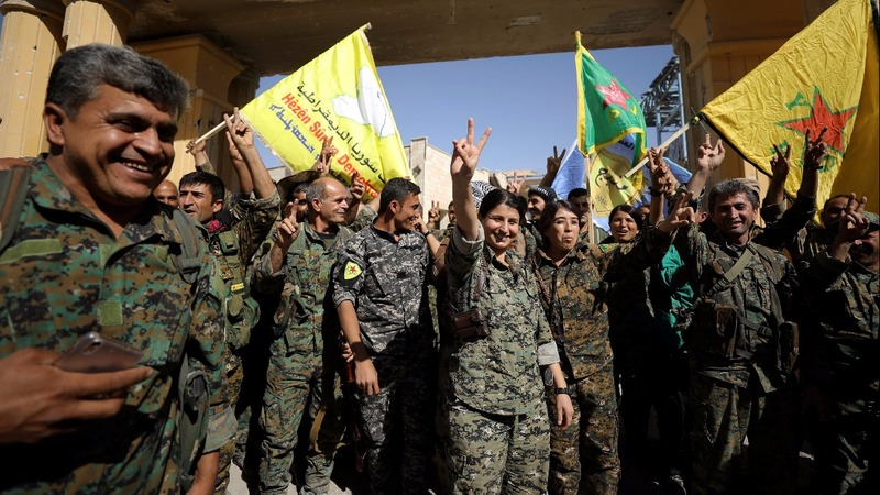 Islamic State defeated in their Syrian capital Raqqa