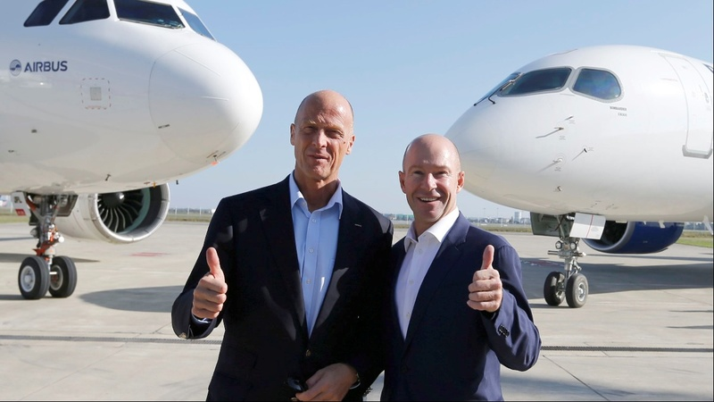 Airbus saves Bombardier, rebuffs U.S. threat