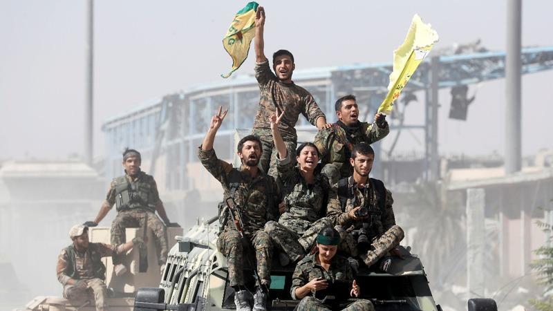 "VERBATIM: Pentagon says ISIS ""losing its grip"" in Syria"