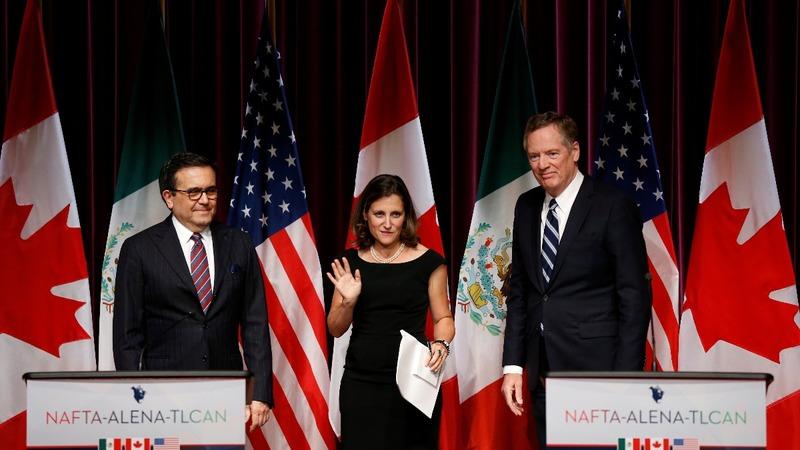 NAFTA teeters as talks fail to ease tensions
