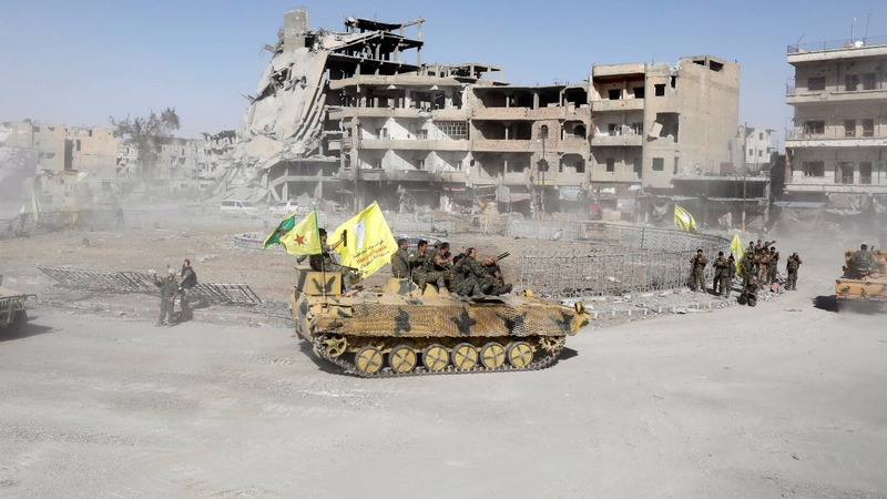 Fall of Raqqa poses new test for U.S. in Syria