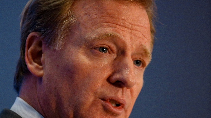 Goodell says he and Trump haven't spoken amid anthem flap