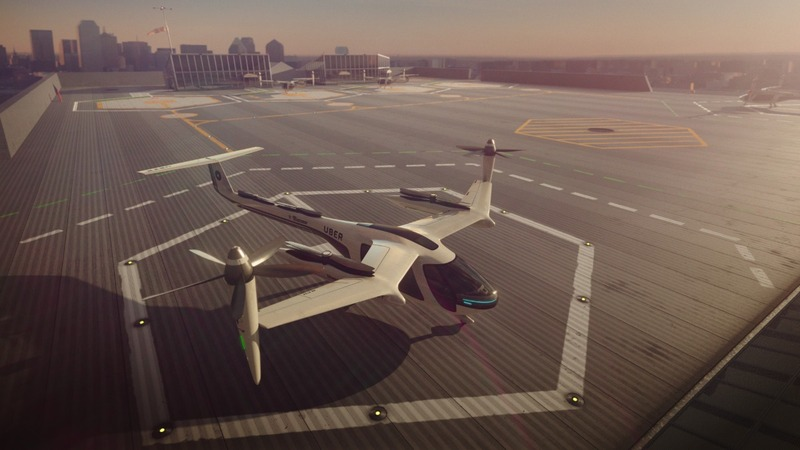 Uber, NASA team for giant leap to flying taxis