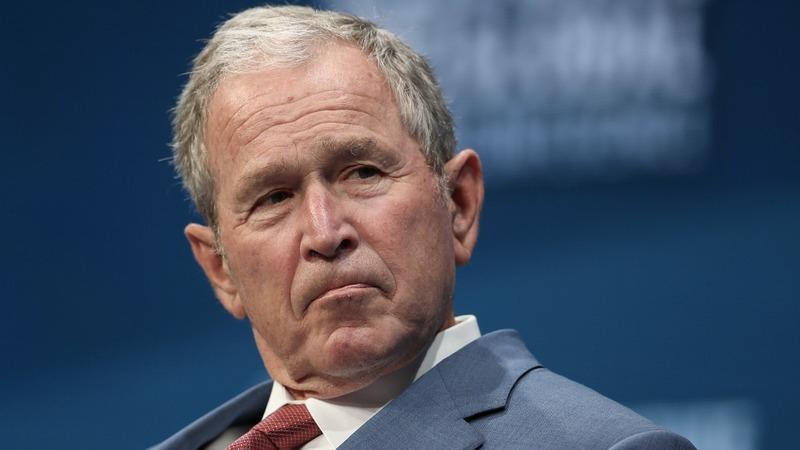 VERBATIM: 'Bigotry seems emboldened' -George W. Bush