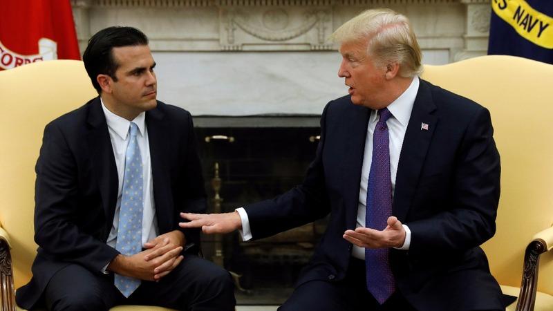 VERBATIM: Trump grades his Puerto Rico response