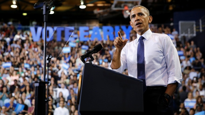 Barack Obama returns to the campaign trail