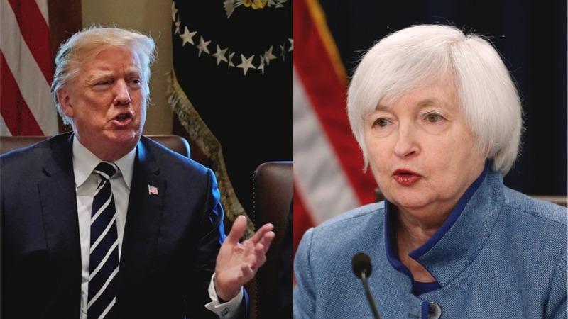 Yellen's quiet power meets Trump's force as term-end looms