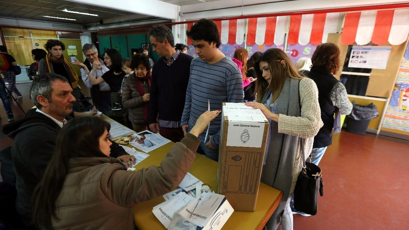 Argentina election a referendum on Macri