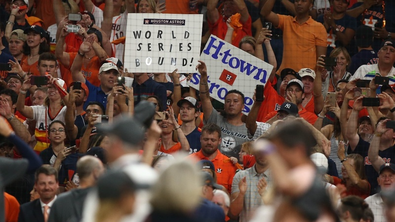 Astros to face Dodgers in World Series after win over Yankees