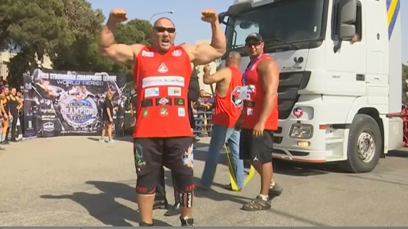 INSIGHT: World's strongest men compete in Jordan