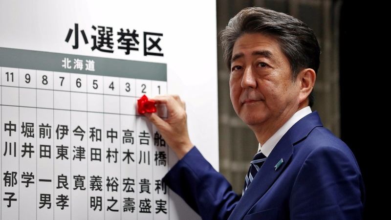 Japan PM's ruling bloc scores big election win