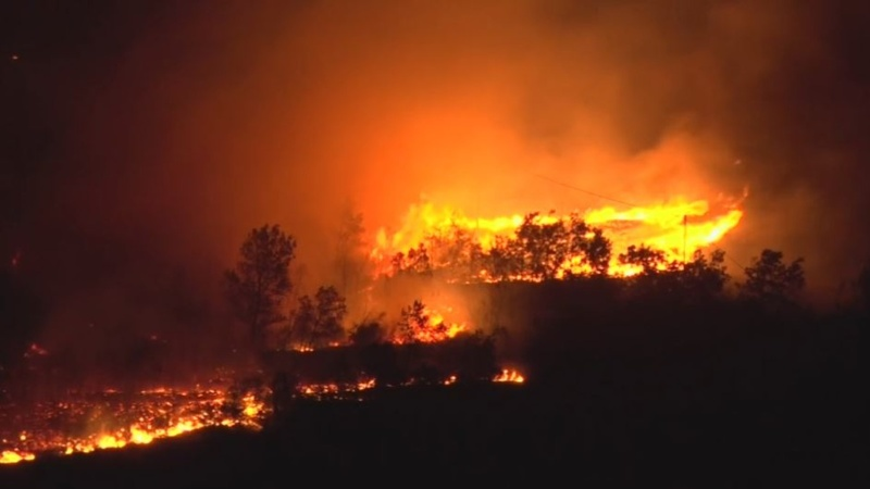 INSIGHT: Raging fire threatens homes in Italy
