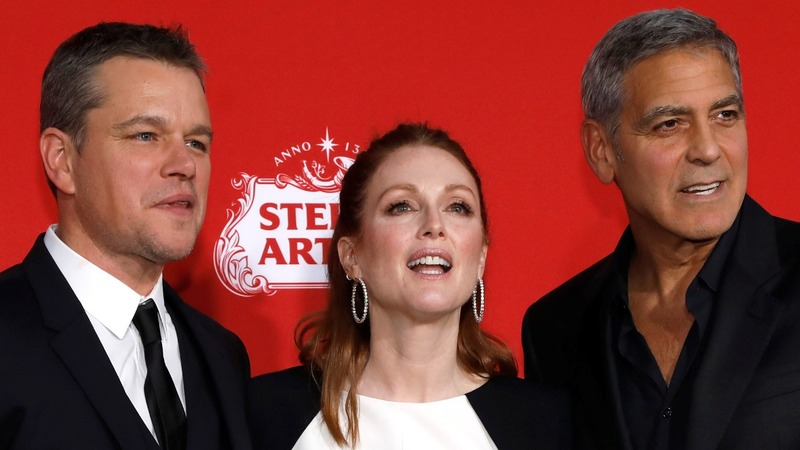 Clooney, Moore and Damon on Hollywood abuse scandals