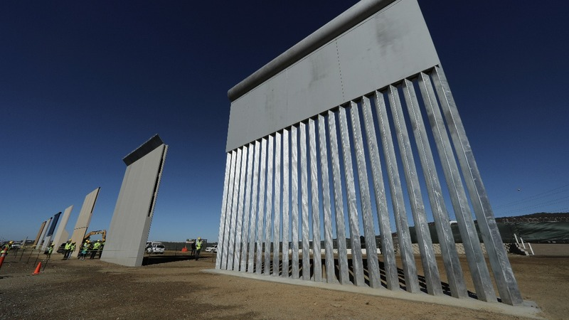 Border wall prototypes the first step of Trump pledge