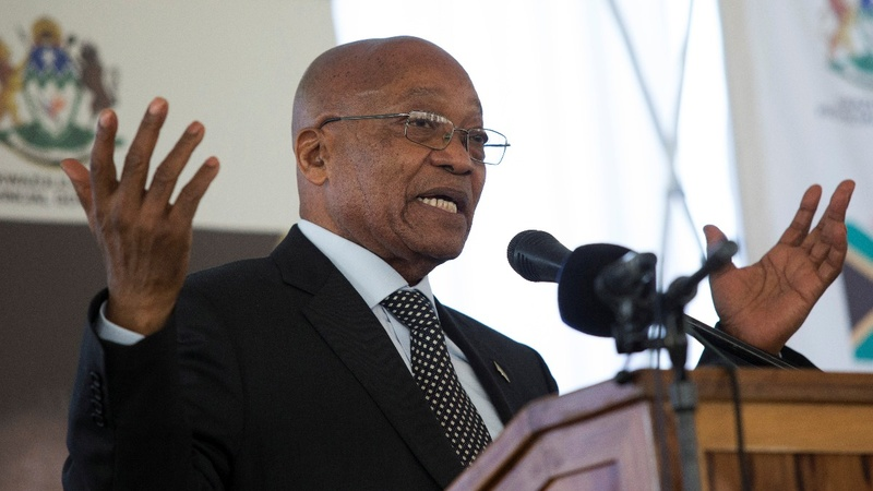 Zuma to S. Africa court: Reject call for corruption probe