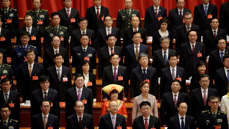 In China's new leadership, few women to be found