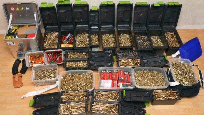 German police seize weapons in security raid