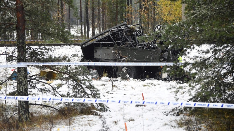 Soldiers killed in Finland train collision