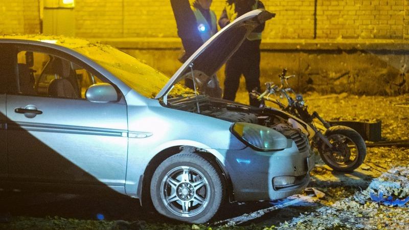 Ukraine bomb kills two people, hurts MP