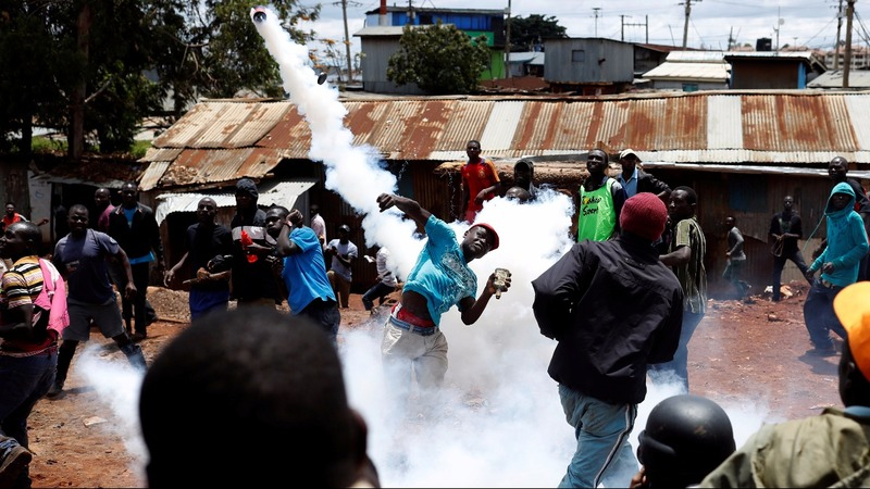 Kenya's election rerun marred by violence