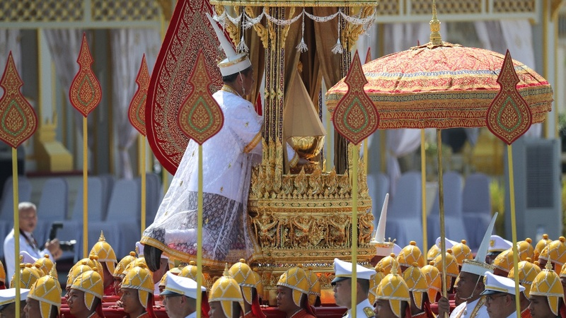 INSIGHT: Thai king collects his father's remains