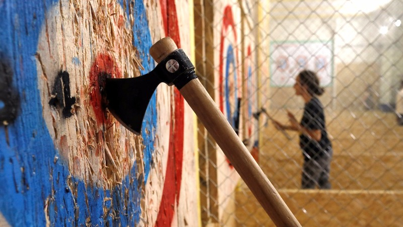 INSIGHT: Parisians get a taste for axe-throwing