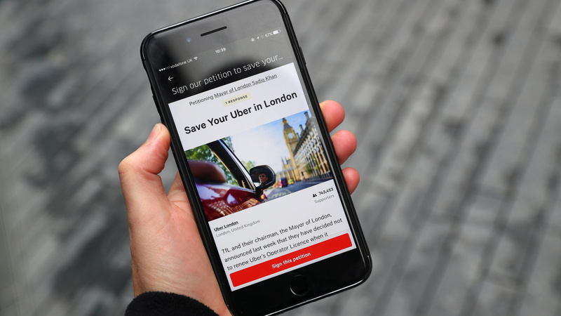 Uber aims to mend bridges with new London boss