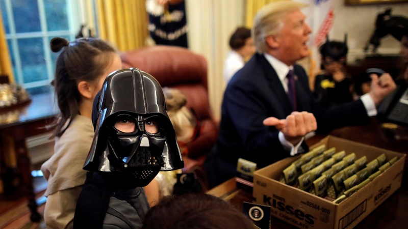 INSIGHT: Trick-or-treating in the Oval Office