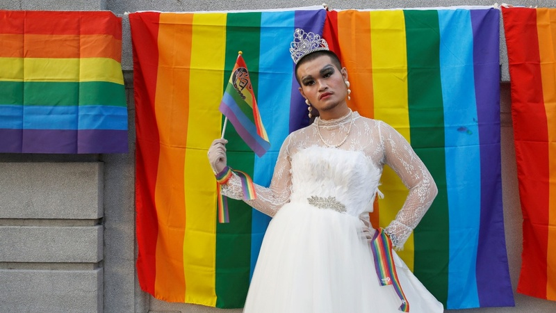INSIGHT: LGBT Taiwanese celebrate Pride