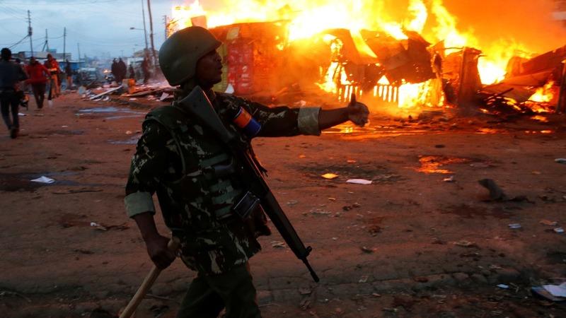Kenya in turmoil over incomplete polls