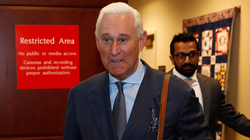 Prominent Trump ally Stone suspended from Twitter