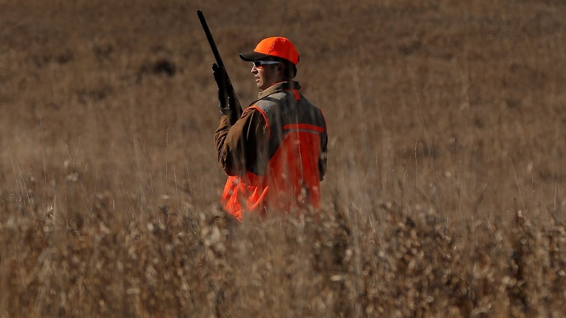 Trump Jr. goes hunting in Iowa