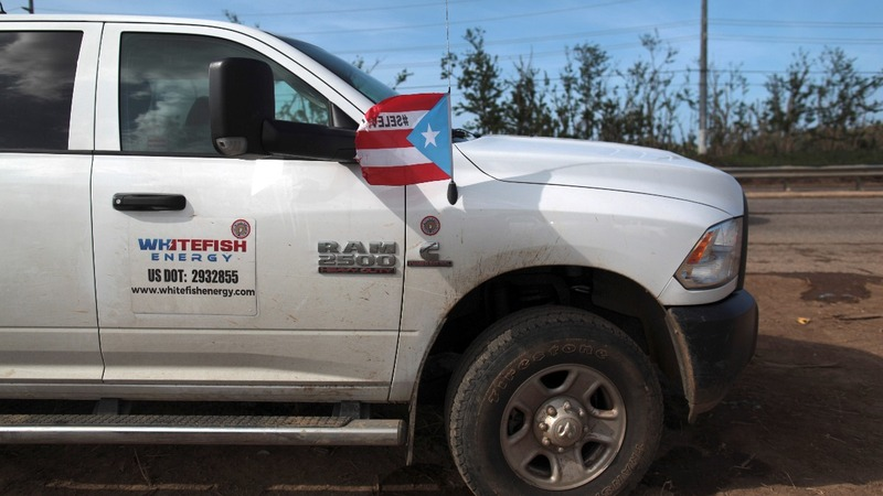 Puerto Rico governor calls for cancellation of Whitefish contract