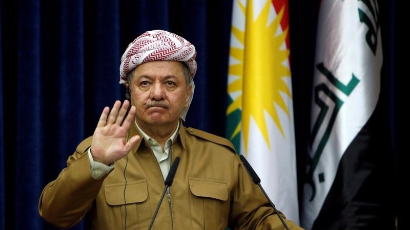 Defeated Iraqi Kurd leader steps down