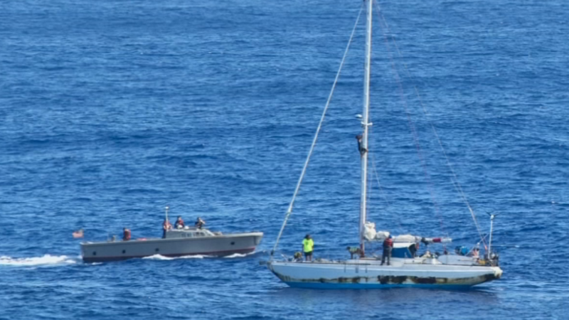 U.S. sailors rescued after five months adrift at sea